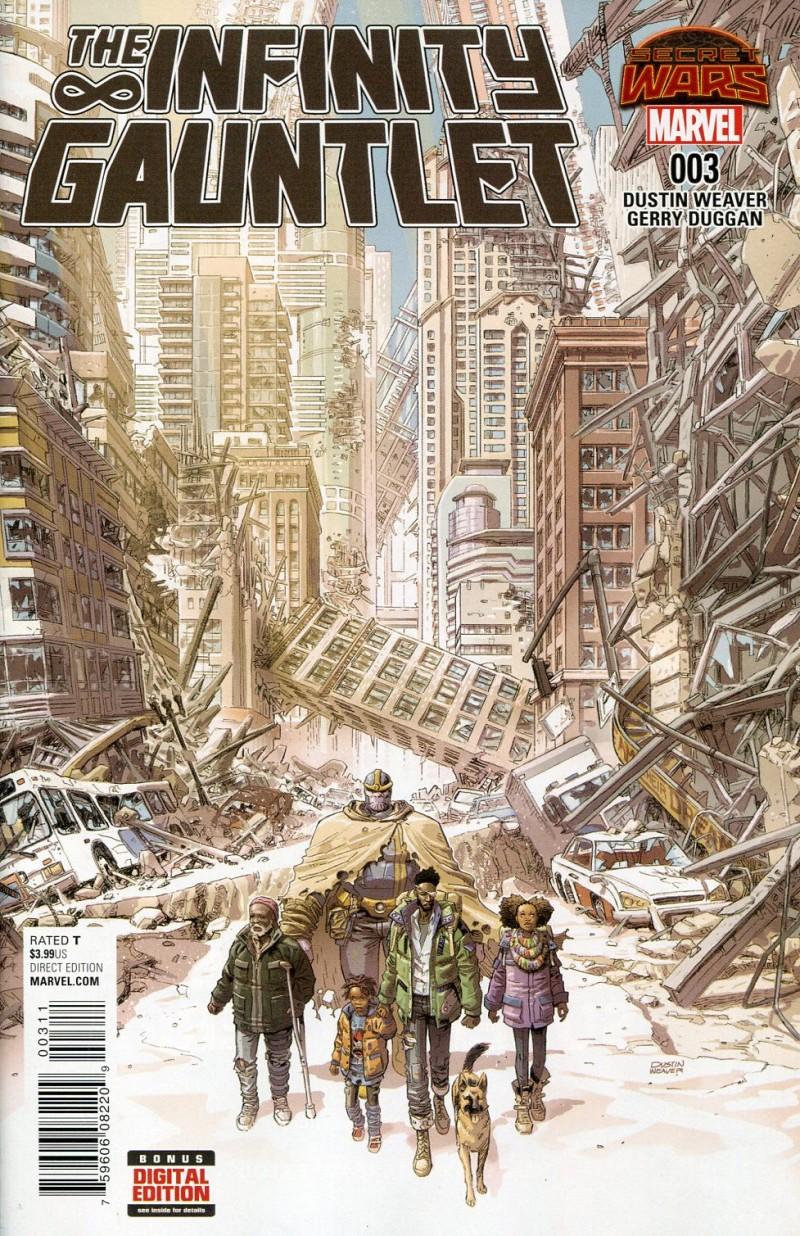 Infinity Gauntlet (Secret Wars) #3