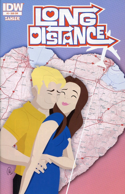 Long Distance #3  Sub CVR