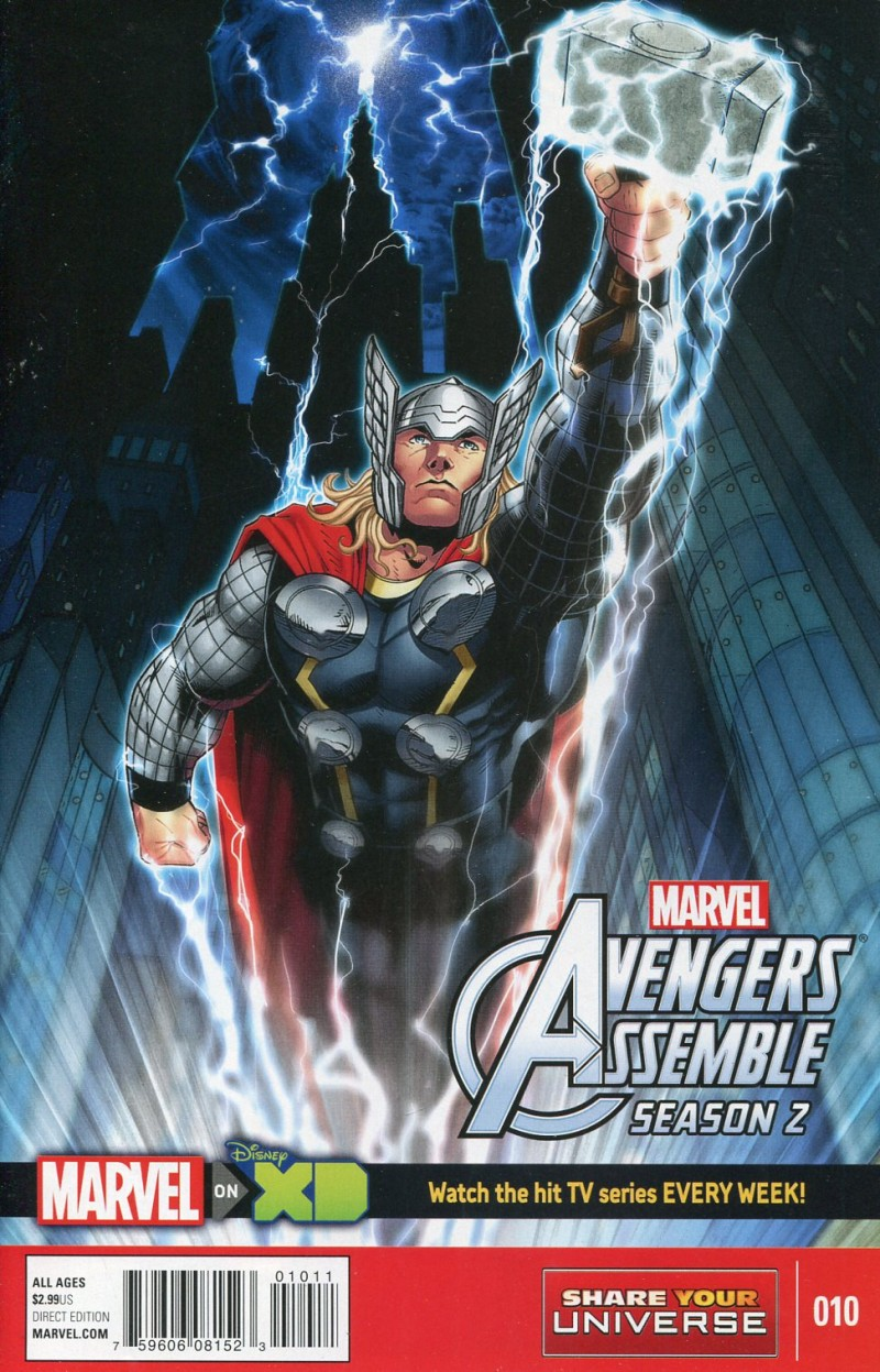 Marvel Universe Avengers  Assemble Season 2 #10