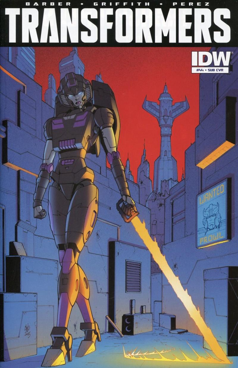Transformers Robots in  Disguise #44 CVR B