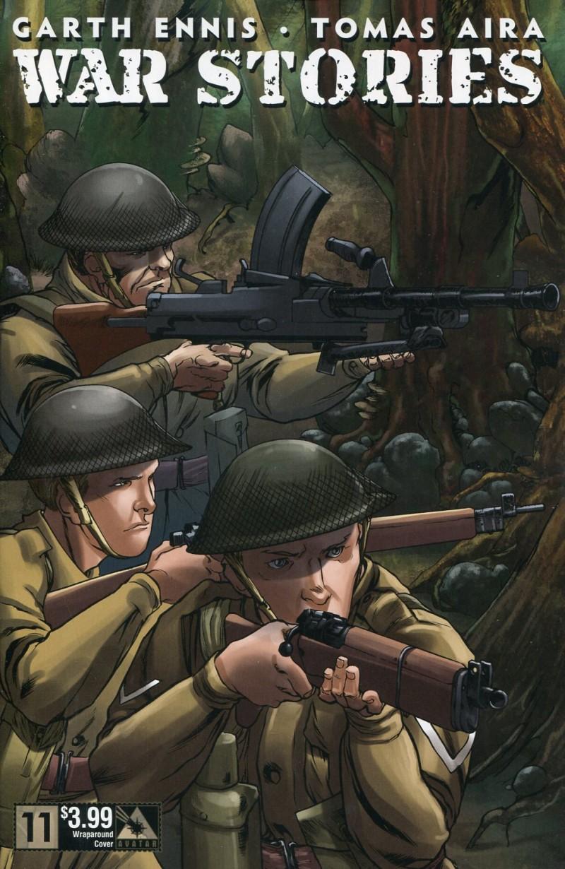 War Stories #11 Wrap CVR