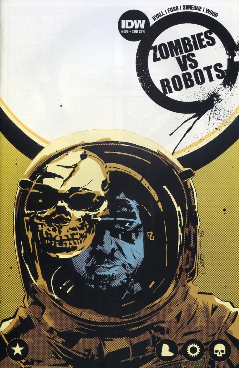 Zombies Vs Robots V2 #8 Sub CVR