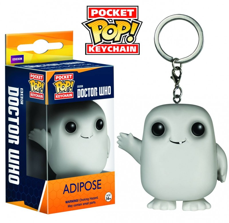 Funko Pop Dr Who Keychain Adipose