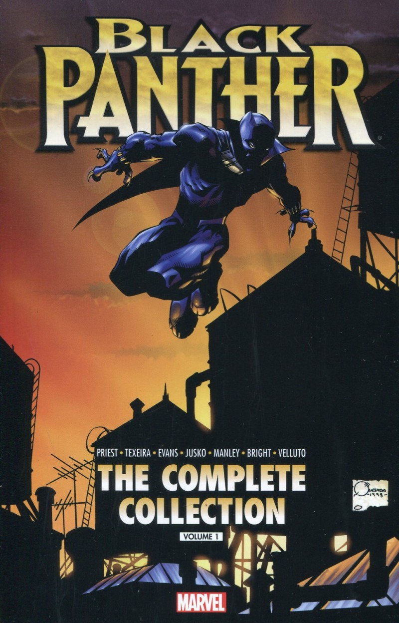 Black Panther TP  by Priest V1 Complete Col