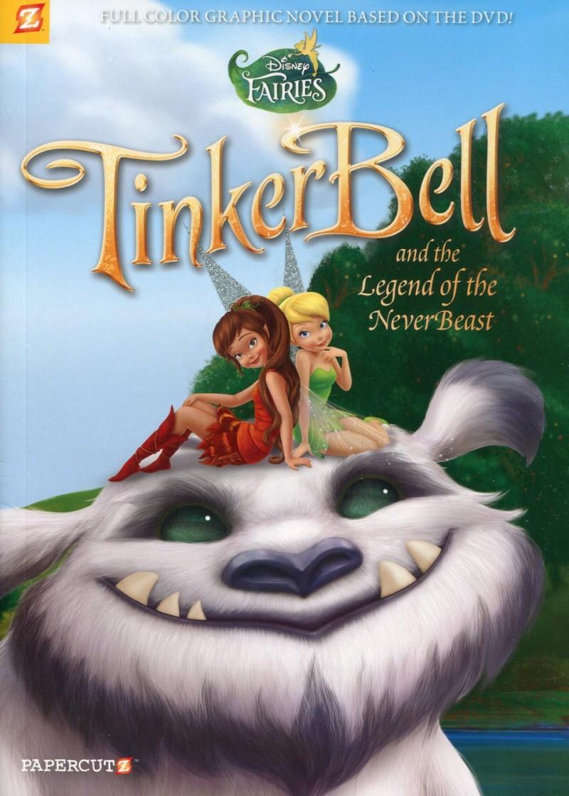 Disney Fairies GN V17 Tinker Bell Legend of Nev