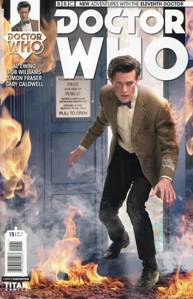 Dr Who 11th #15 CVR B