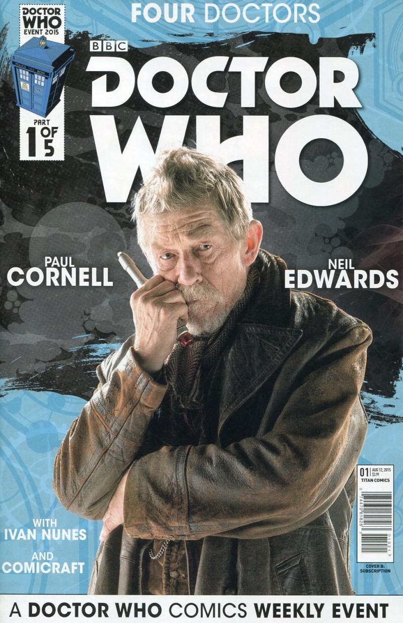 Dr Who 2015 Four Doctors  #1 Sub CVR