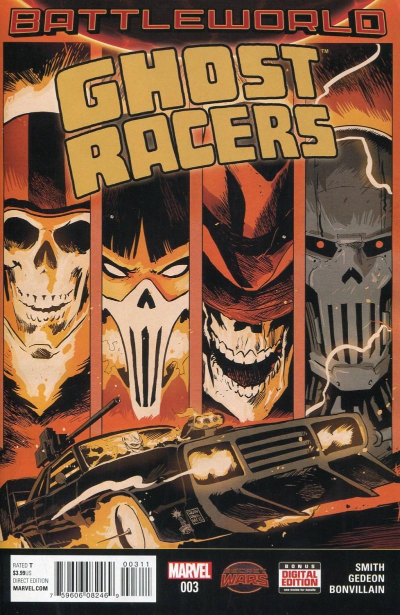 Ghost Racers #3 Secret Wars