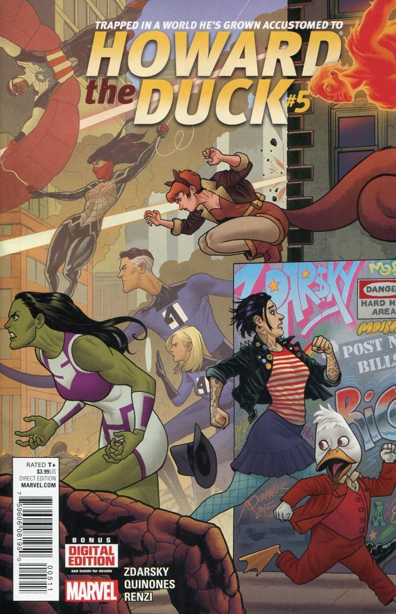 Howard the Duck V5 #5