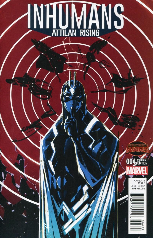 Inhumans Attilan Rising #4 Secret Wars Koyama Var