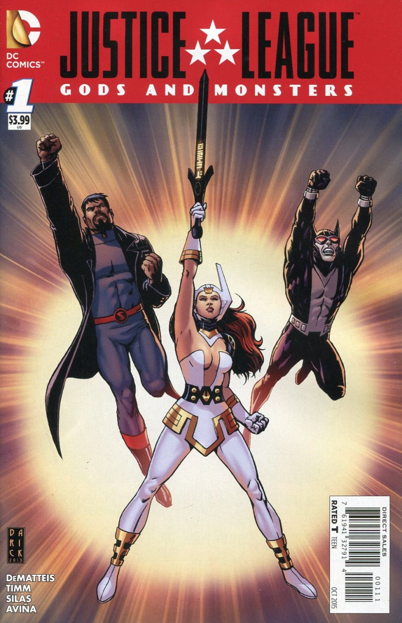 JLA Gods and Monsters #1