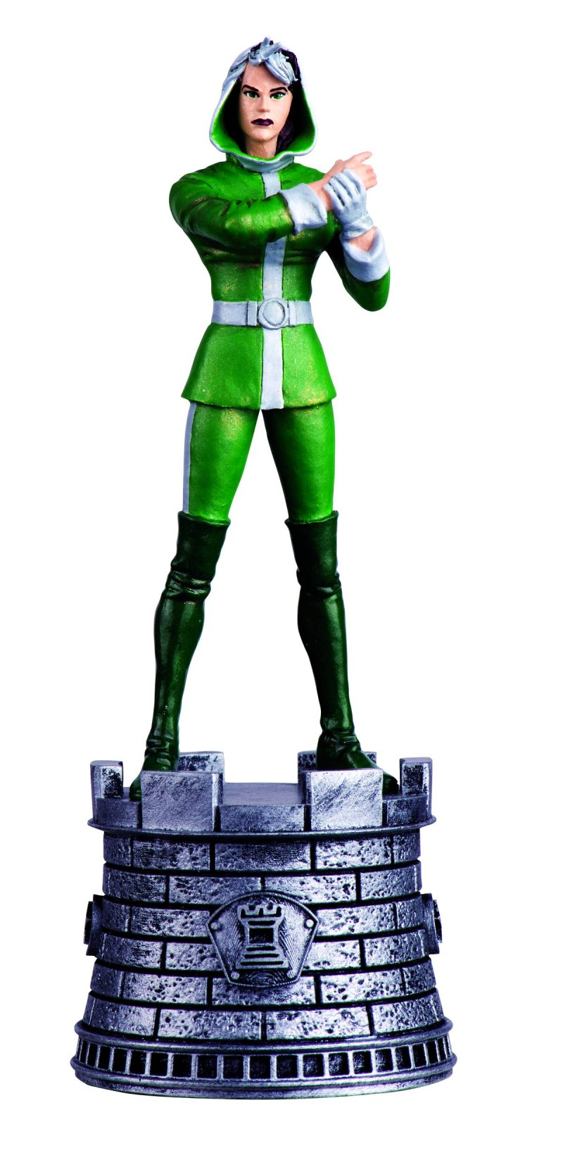 Marvel Chess Figure Mag #40 Rogue White Bishop