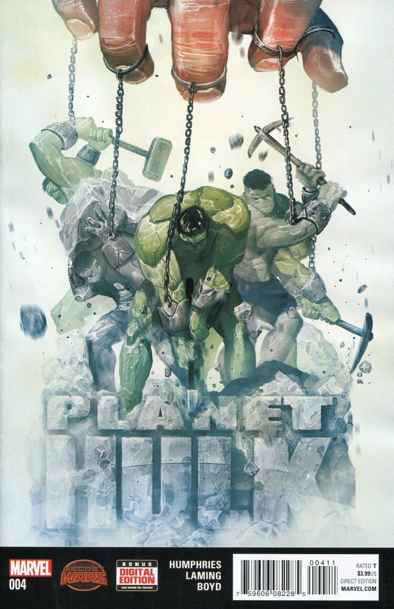 Planet Hulk (Secret Wars) #4