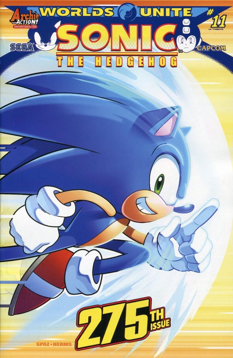 Sonic the Hedgehog #275 CVR A