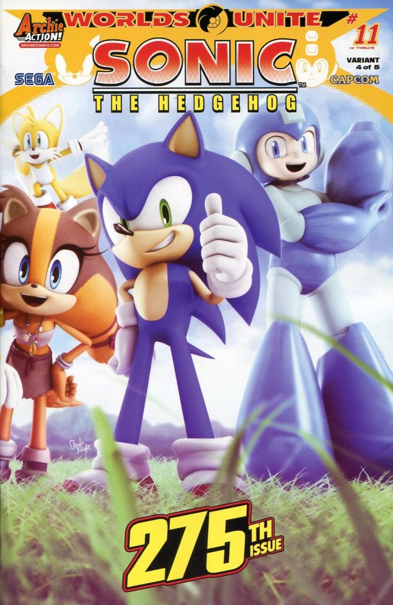 Sonic the Hedgehog #275 CVR E