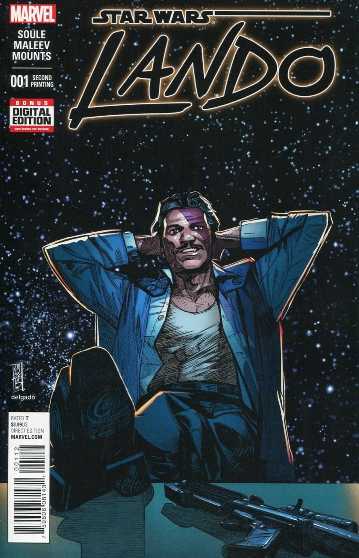 Star Wars Lando #1  2nd Printing