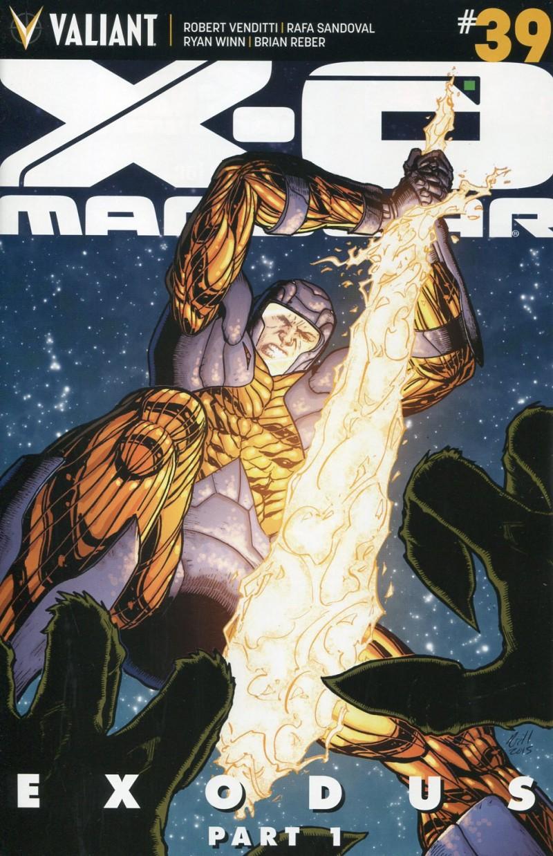 X-O Manowar V3 #39  CVR B