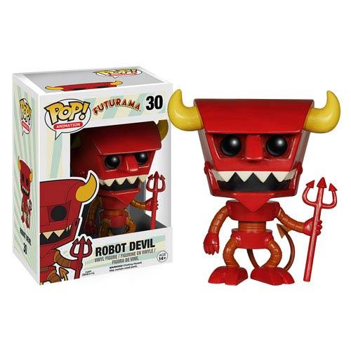 Funko Pop Futurama Robot  Devil
