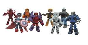 Marvel Minimates S62  Sam Cap & Red Onslaught