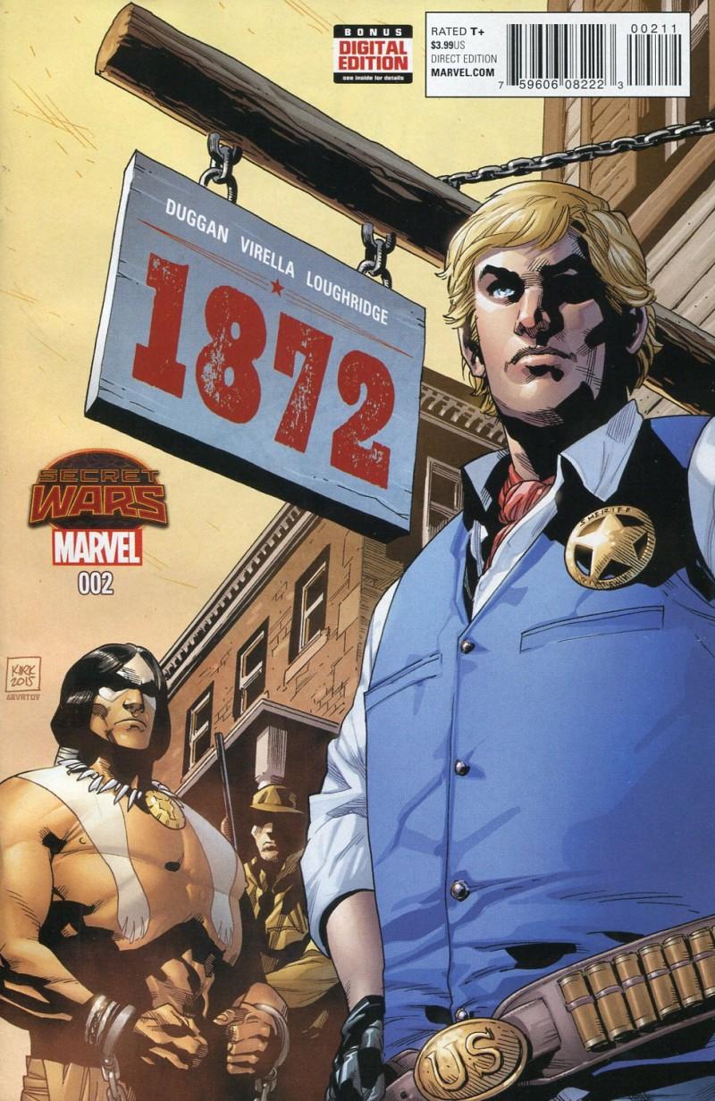 1872 #2 Secret Wars
