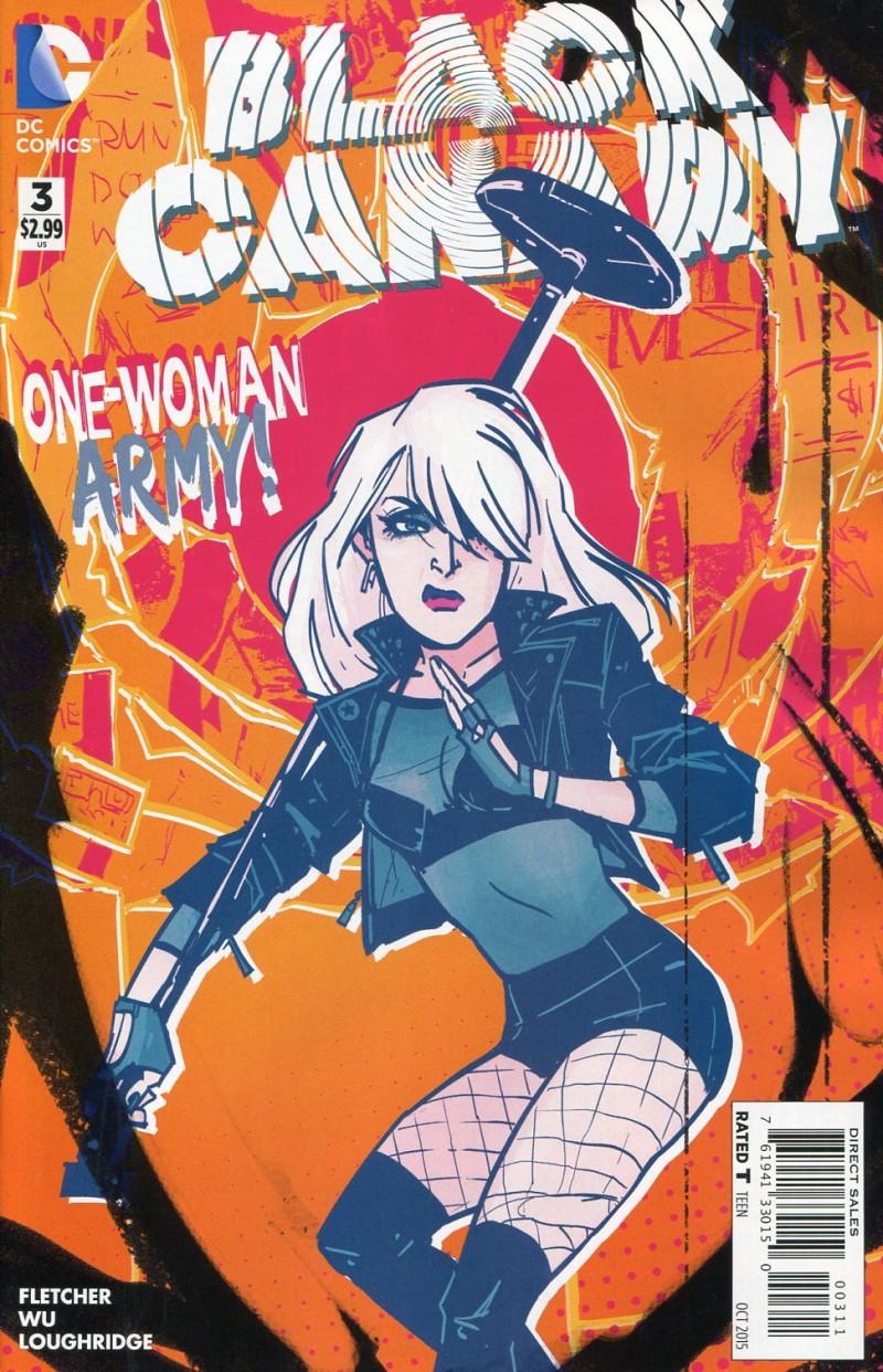 Black Canary V4 #3