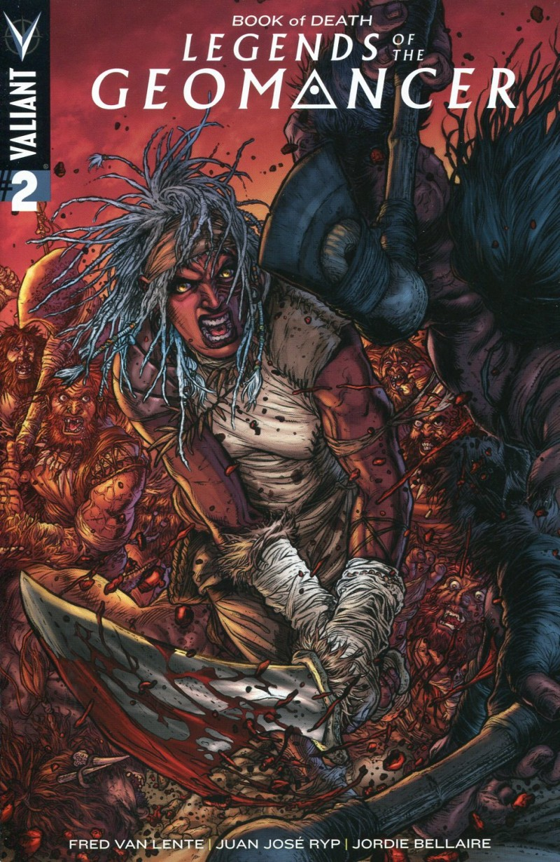 Book of Death Legends of  Geomancer #2