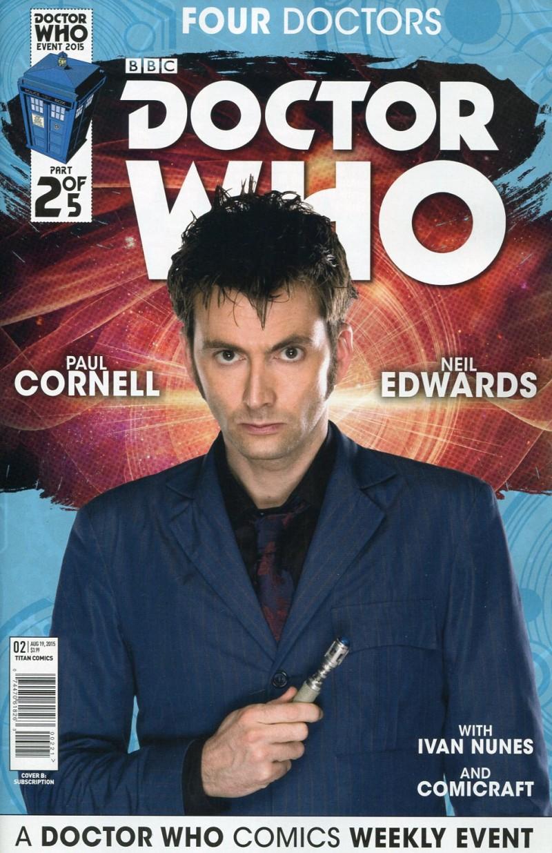 Dr Who 2015 Four Doctors  #2 Sub CVR