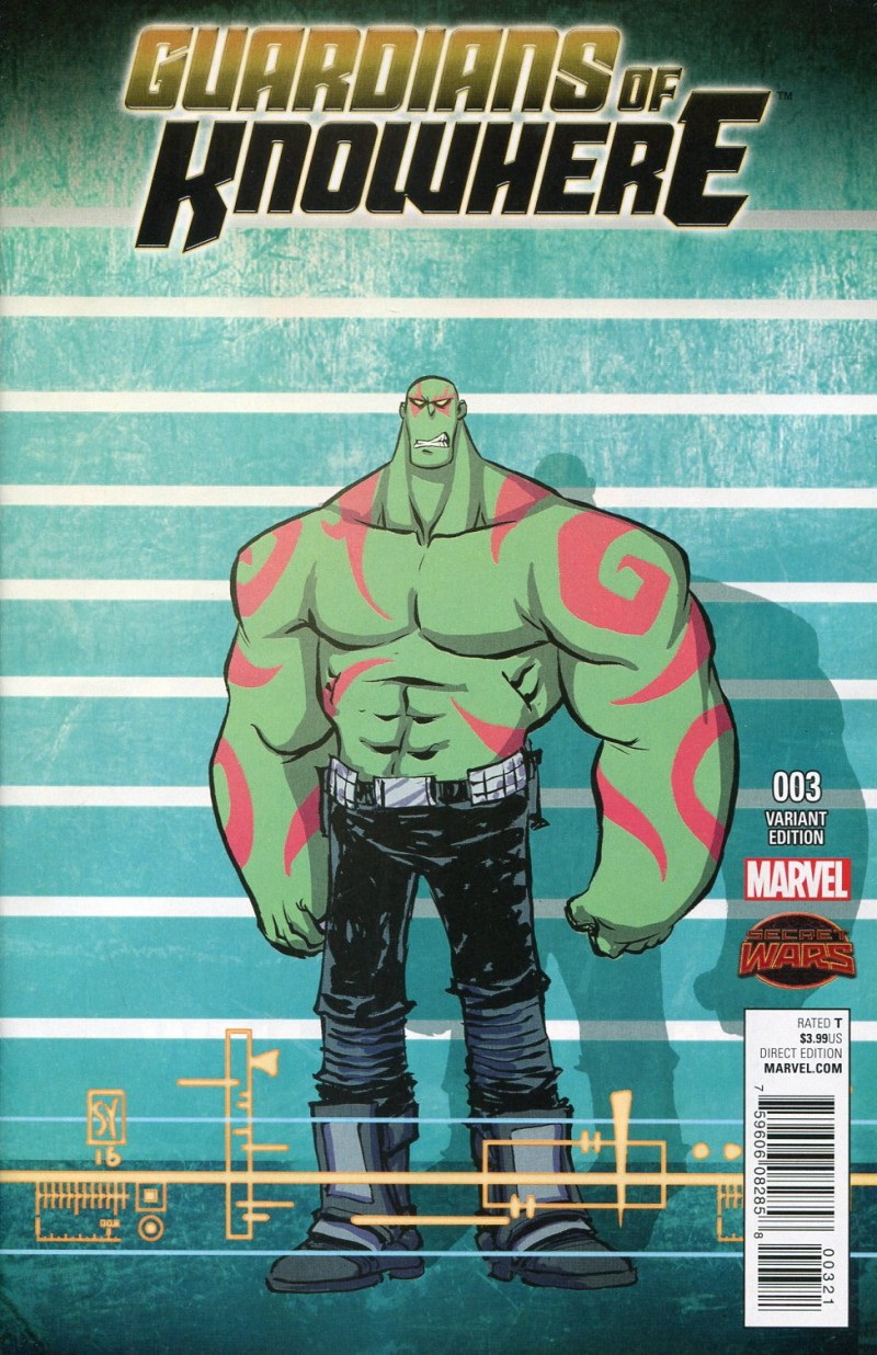 Guardians of Knowhere #3  Young Variant