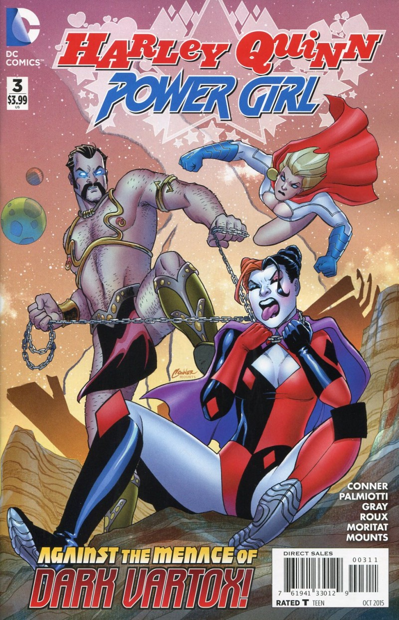 Harley Quinn and Power  Girl #3