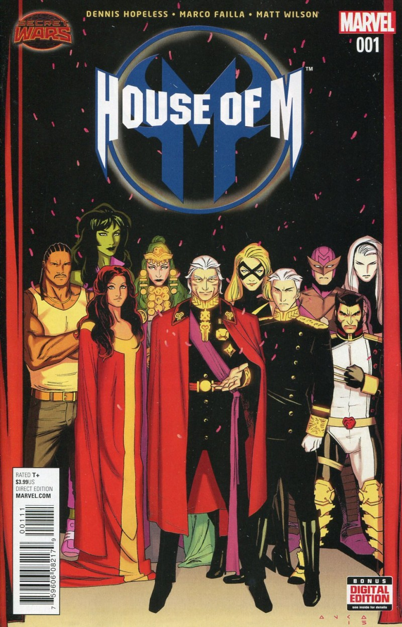 House of M V2 #1  Secret Wars