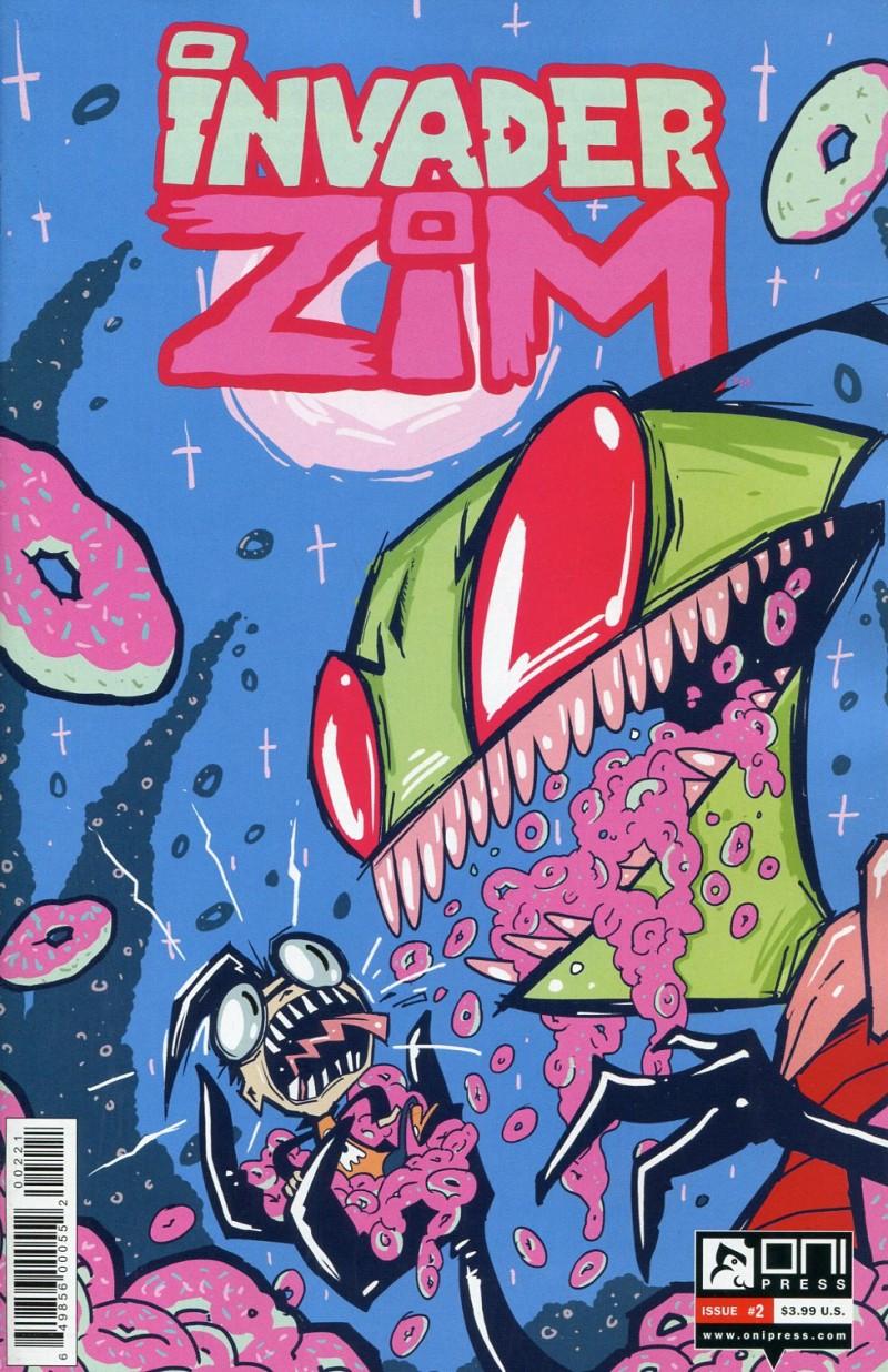 Invader Zim #2  Variant