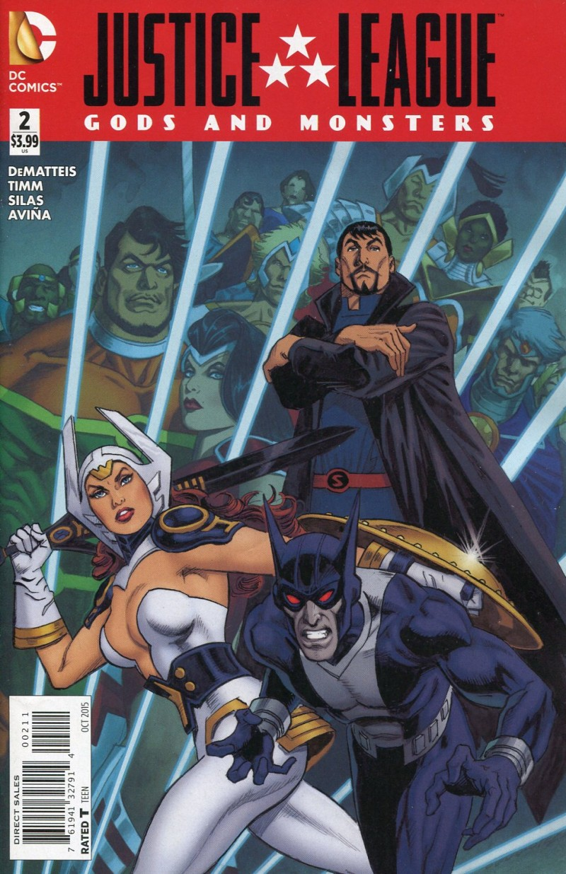 JLA Gods and Monsters #2