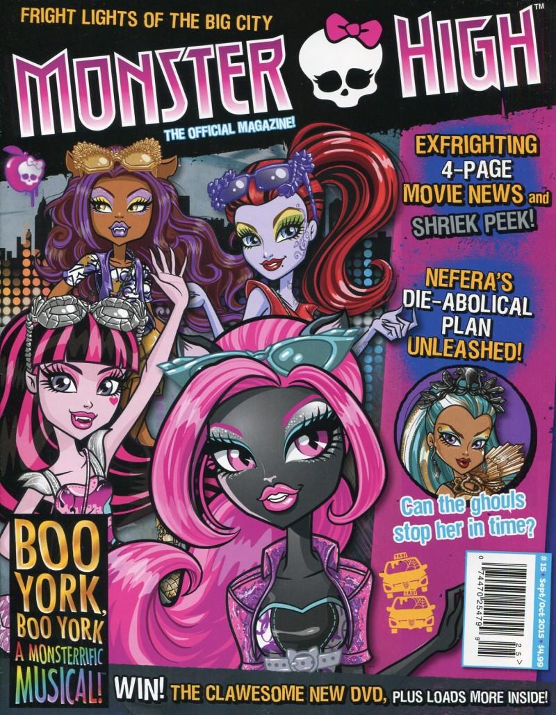 Monster High Magazine #15