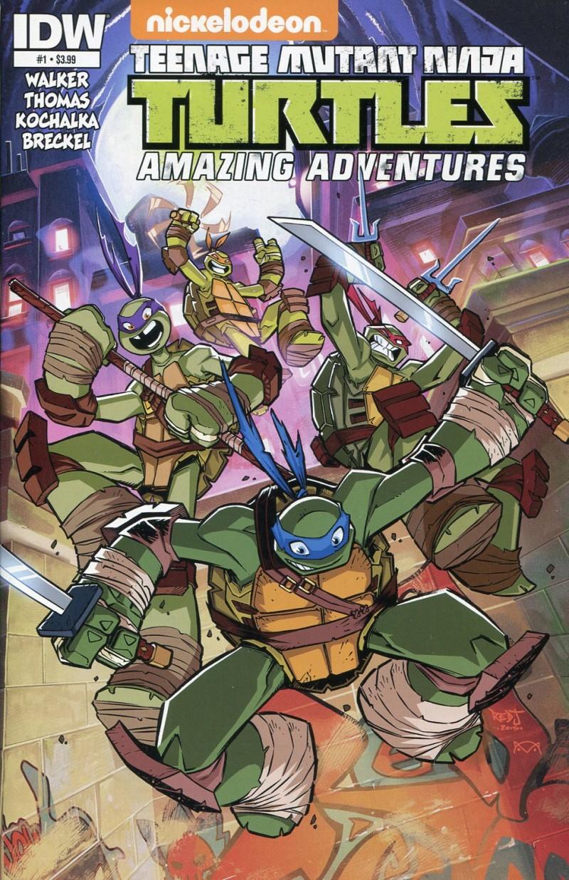 TMNT Amazing Adventures #1