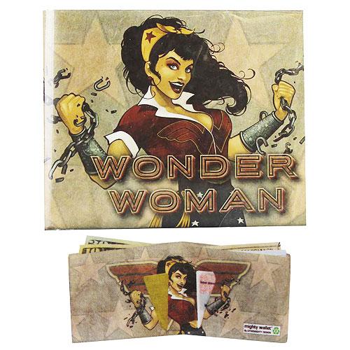 DC Wallet Bombshells  Wonder Woman Mighty