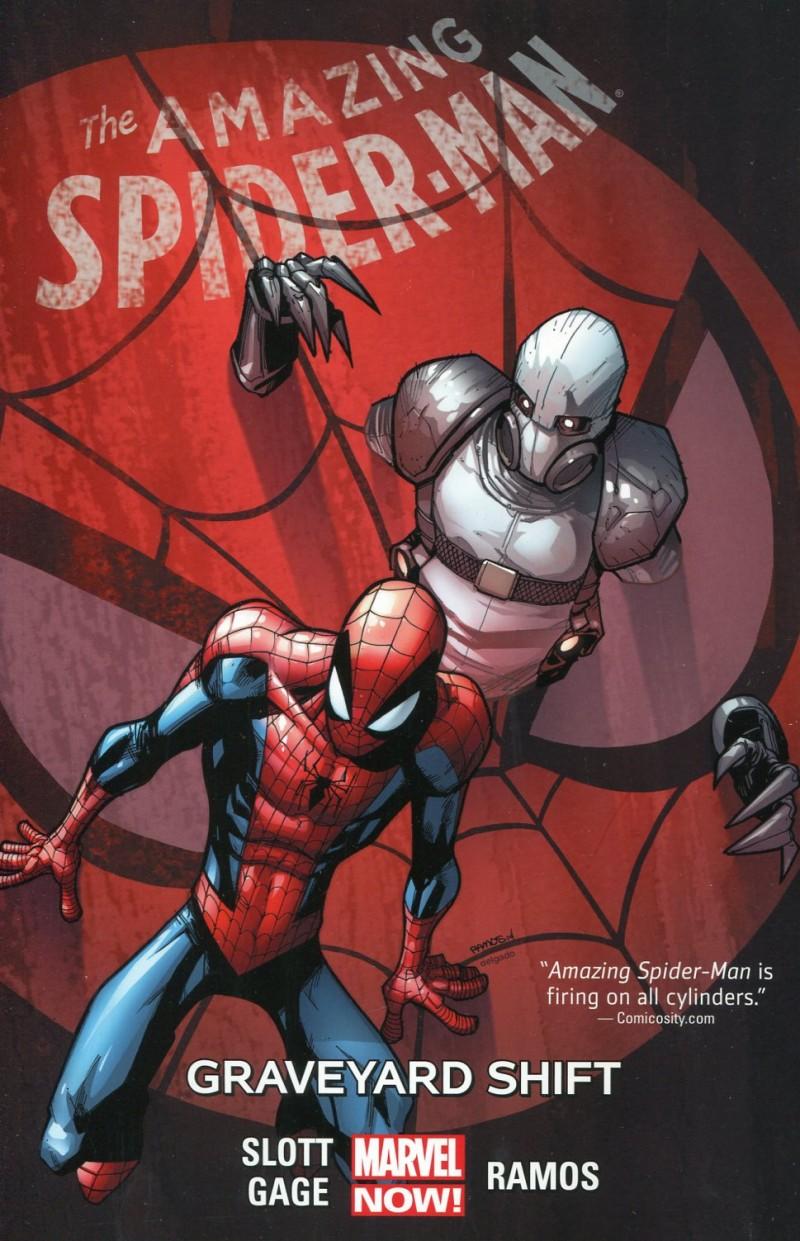 Spider-Man TP Amazing Now V4 Graveyard Shift