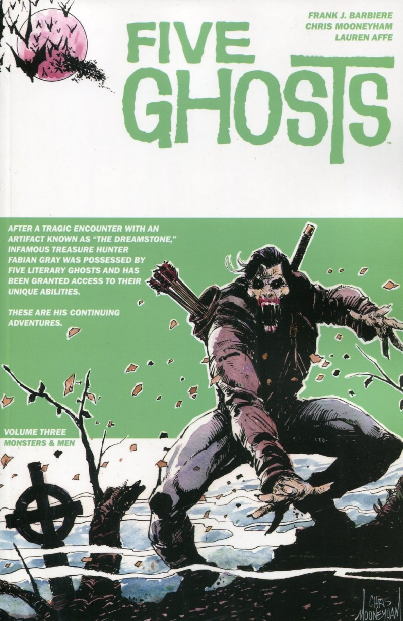 Five Ghosts Haunting  of Fabian Gray TP V3