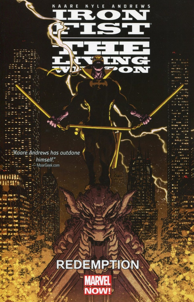 Iron Fist Living Weapon TP V2
