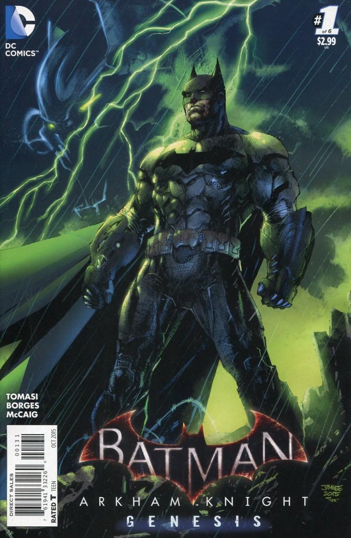 Batman Arkham Knight  Genesis #1 Jim Lee Var