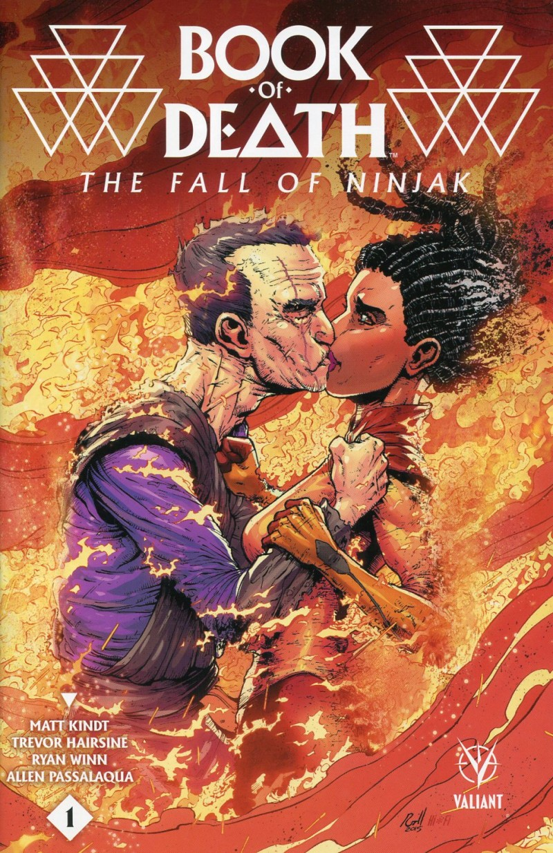 Book of Death Fall of Ninjak #1 CVR C