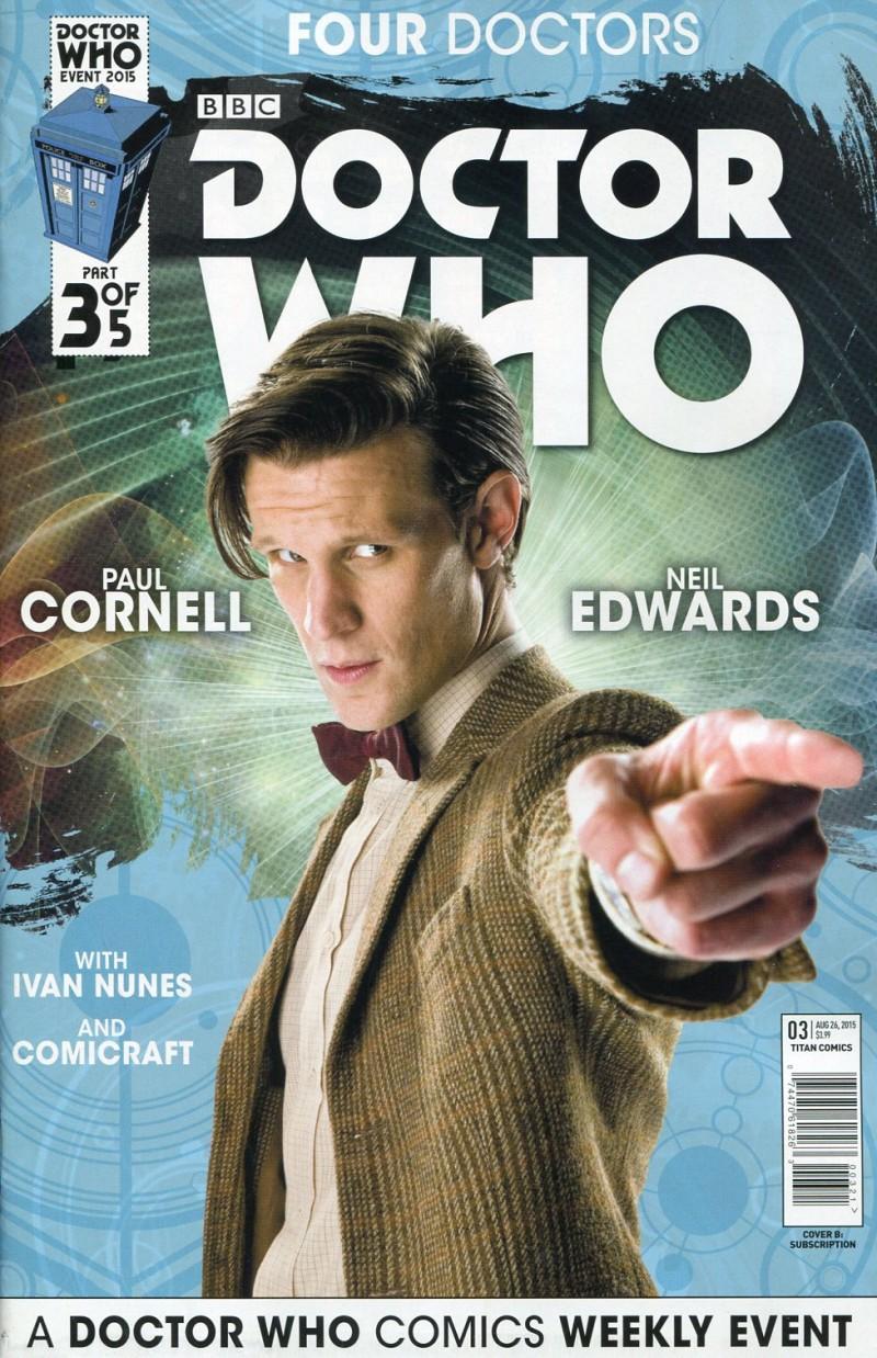 Dr Who 2015 Four Doctors  #3 Sub CVR
