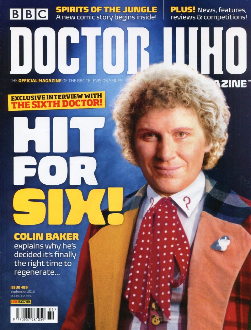 Dr Who Mag #489