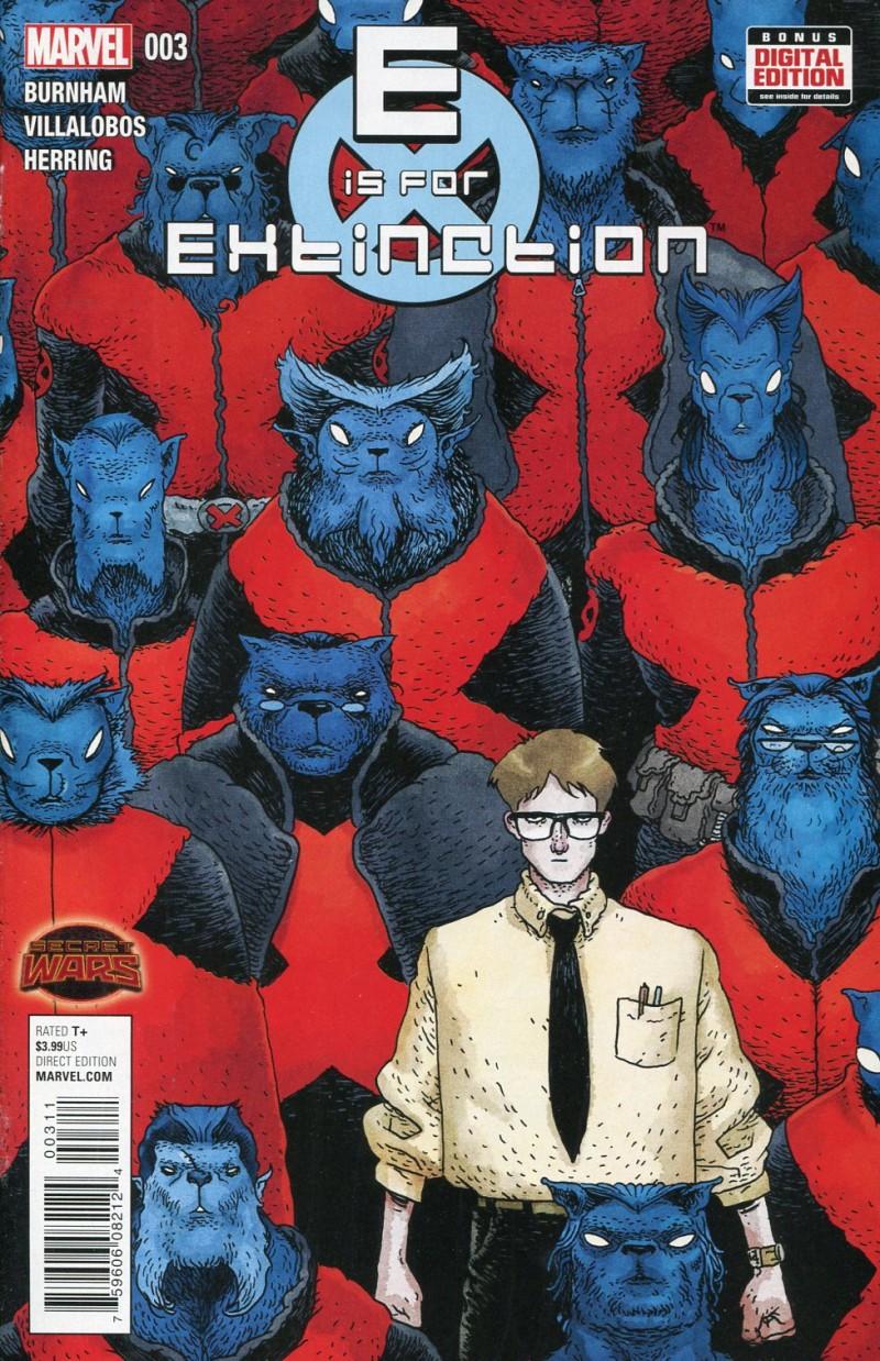 E is For Extinction #3  Secret Wars