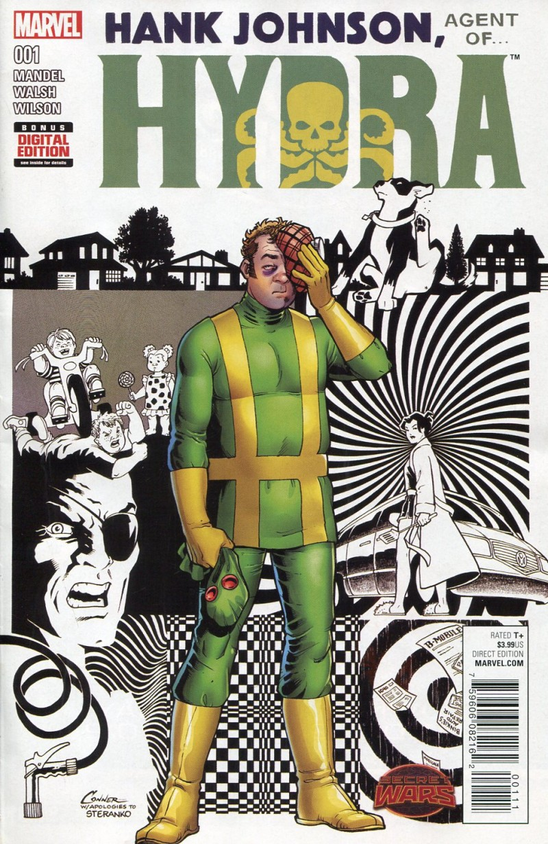 Hank Johnson Agent of Hydra #1 Secret Wars