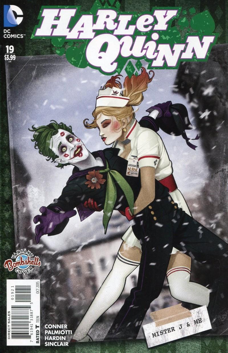 Harley Quinn V2 #19 Bombshells CVR