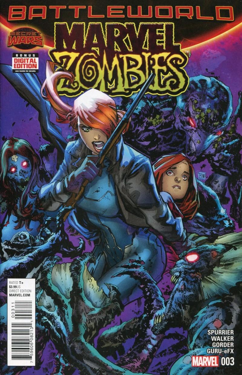 Marvel Zombies V6 #3  Secret Wars