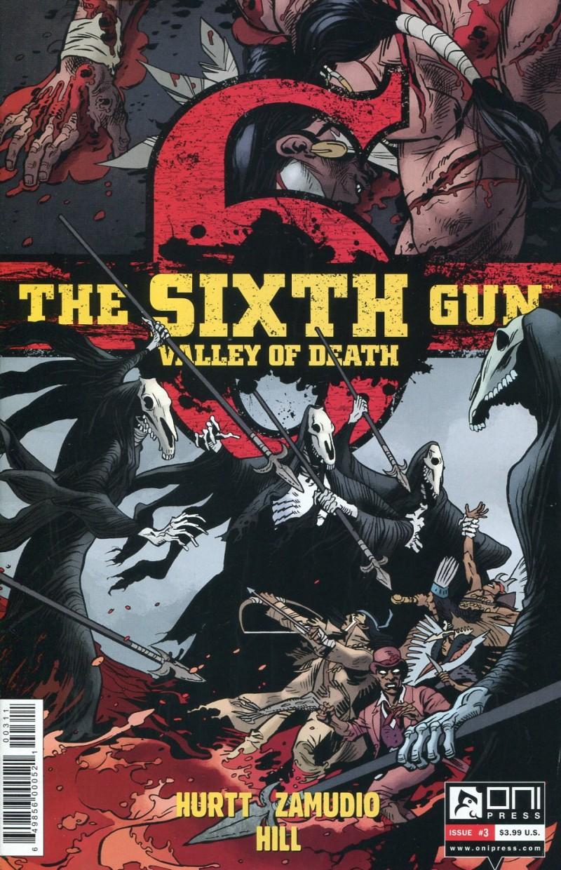 Sixth Gun Valley of Death #3