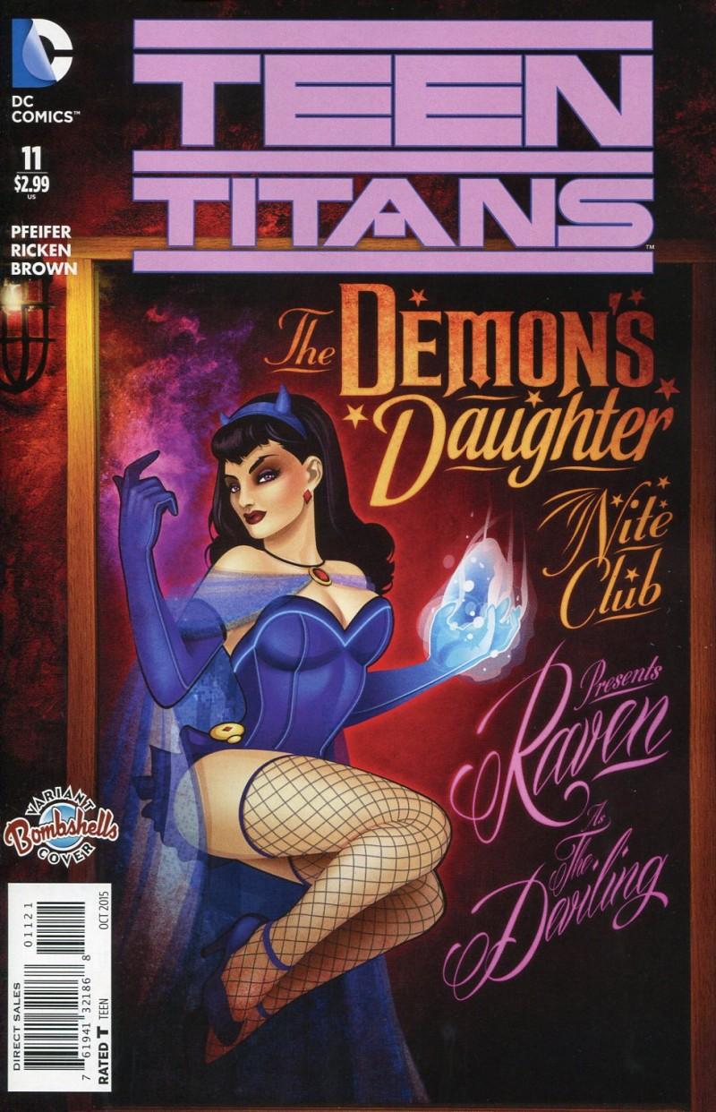 Teen Titans V5 #11  Bombshells CVR