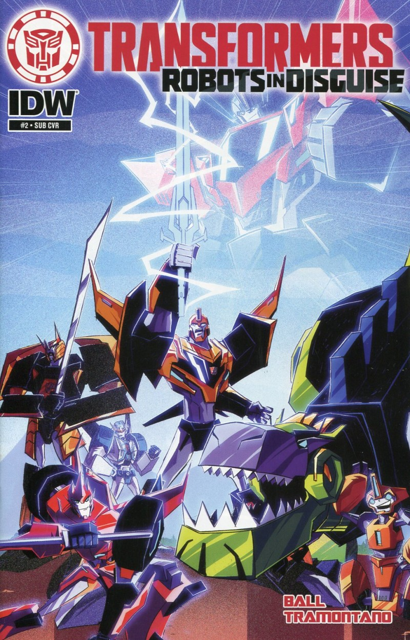 Transformers Animated Robots in Disguise #2 Sub