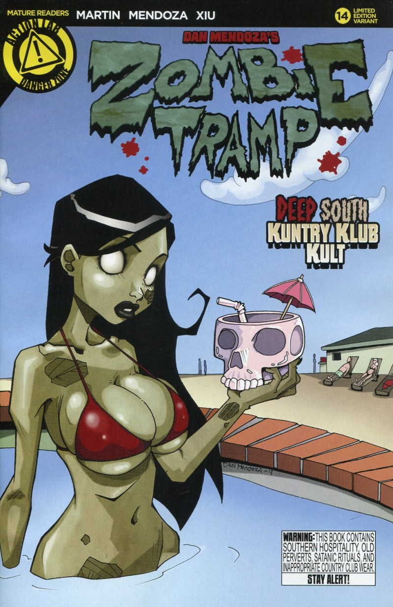 Zombie Tramp V3 #14 Mendoza Variant